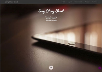 Long Story Short Theme Demo